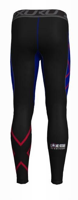 2XU Men's Compression Pants Rear