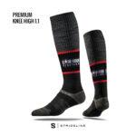 LSS Compression Knee High Sock black