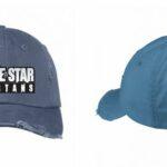 Lone Star Spartans Baseball Hat in Scotland Blue